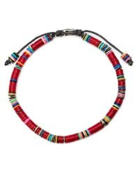 M Cohen | Brown Beaded Bracelet for Men | Lyst