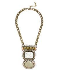 BaubleBar | Metallic The Shoshanna Amulet | Lyst