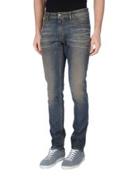 Tom Rebl - Blue Denim Trousers for Men - Lyst