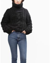 Wool And The Gang | Black River Night Sweater | Lyst