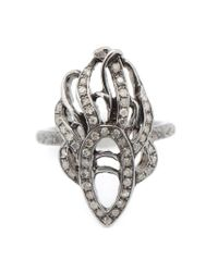 Loree Rodkin - Metallic 'phoenix' Diamond Pinky Ring - Lyst