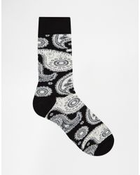 Isa Arfen - Black Straight-leg High-rise Cotton-blend Trousers for Men - Lyst