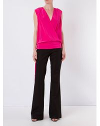 Giuliana Romanno | Black Flared Trousers | Lyst
