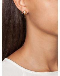 Eddie Borgo | Metallic Pavé Bud Stud Earrings | Lyst