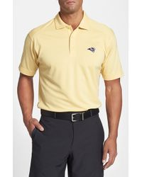 Cutter & Buck | Natural St. Louis Rams - Genre Drytec Moisture-Wicking Polo Shirt for Men | Lyst