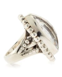 Stephen Dweck - Metallic Rock Crystal Ring - Lyst