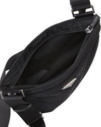 prada silver bag - Prada Vela Crossbody Bag in Black (nero) | Lyst
