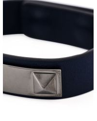 Valentino - Blue 'rockstud' Bracelet for Men - Lyst