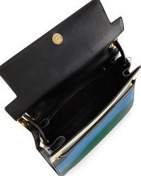 Valentino - Black My Rockstud Striped Frame Bag - Lyst