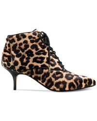 Michael Kors - Brown Keaton Bootsie Flat Pull On Ankle Boots - Lyst