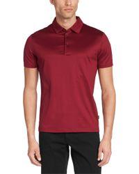 BOSS Pink Regular-fit Cotton Polo Shirt: 'rapino 52' for men