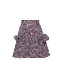 c43ac2b90 Philosophy Di Lorenzo Serafini. Women's High Waisted Fantasy Ruffle Mini  Skirt