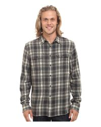 Rip Curl | Gray Salida Long Sleeve Flannel for Men | Lyst