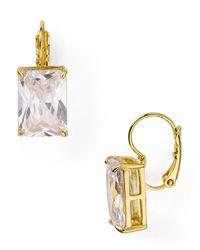 Kate Spade | Metallic Draped Jewels Drop Earrings | Lyst