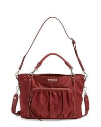 MZ Wallace - Red 'small Nikki' Bedford Nylon Tote - Lyst