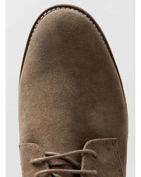 TOPMAN - Brown Desert Shoes for Men - Lyst