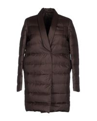 Brunello Cucinelli | Brown Coat | Lyst