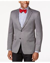 Tommy Hilfiger | Gray Herringbone Classic-fit Sport Coat for Men | Lyst