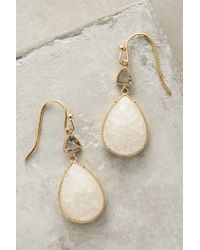 Anthropologie - White Aufeis Drops - Lyst