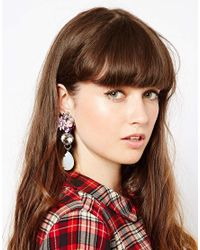 ASOS - Multicolor Limited Edition Coachella Seed Bead Tassle Earrings - Lyst