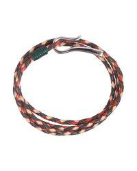 Ted Baker | Green Sor Leather Bracelet for Men | Lyst