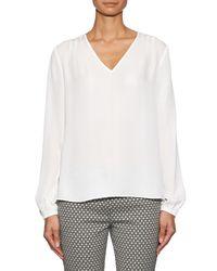 Diane von Furstenberg | White Arlenis Shirt | Lyst