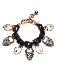 Lulu Frost | Metallic Larkspur Bracelet Black | Lyst