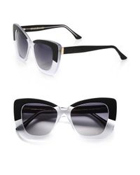 Cutler & Gross - Black Vintage 53mm Cat's-eye Sunglasses - Lyst