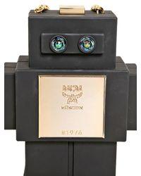 MCM - Black The Robot Perspex Shoulder Bag - Lyst