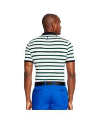 Ralph Lauren | White Slim-fit Striped Polo Shirt for Men | Lyst