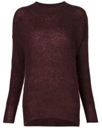 By Malene Birger - Red Long Sweater - Lyst