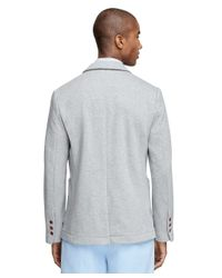 Brooks Brothers | Gray Knit Blazer for Men | Lyst