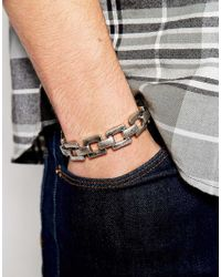 Cheap Monday | Metallic Max Bracelet for Men | Lyst