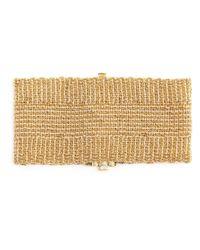 Carolina Bucci - Metallic Woven Bracelet - Lyst