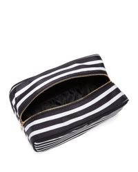 Kate Spade | Black Large Ezra Cosmetic Pouch | Lyst