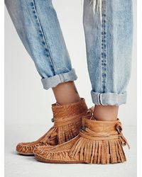 Free People | Brown Fp Collection Womens Eastwood Moccasin | Lyst