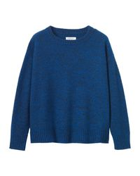 Toast | Blue Boiled Merino Wool Pullover | Lyst