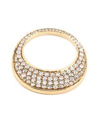 Hoorsenbuhs Metallic 'chip' Diamond Ring