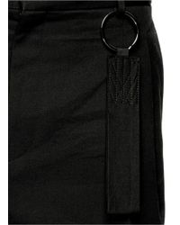 Givenchy - Black Oversize Pull Loop Shorts for Men - Lyst