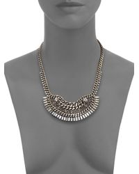 DANNIJO | Metallic Lilith Necklace | Lyst