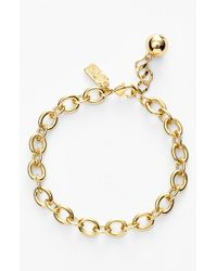 Kate Spade | Metallic 'how Charming' Charm Bracelet | Lyst