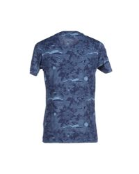 Wesc - Blue T-shirt for Men - Lyst