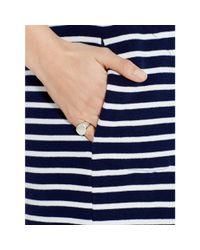 Polo Ralph Lauren - Blue Striped Crewneck Dress - Lyst