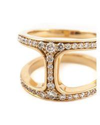 Hoorsenbuhs | Metallic 'dame Phantom' Diamond Ring | Lyst