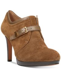 Franco Sarto | Brown Sabelle Shooties | Lyst