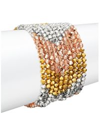 Panacea | Multicolor Beaded Strand Bracelet | Lyst