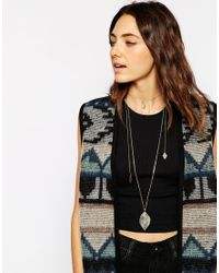 ASOS - Metallic Filigree Wrap Choker Necklace - Lyst