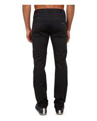 Armani Jeans | Black 5-non Denim Pocket Pants for Men | Lyst