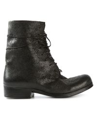 Dimissianos & Miller | Black Lace-up Boots | Lyst