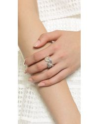 Wouters & Hendrix | Metallic Chained Ring - Silver | Lyst